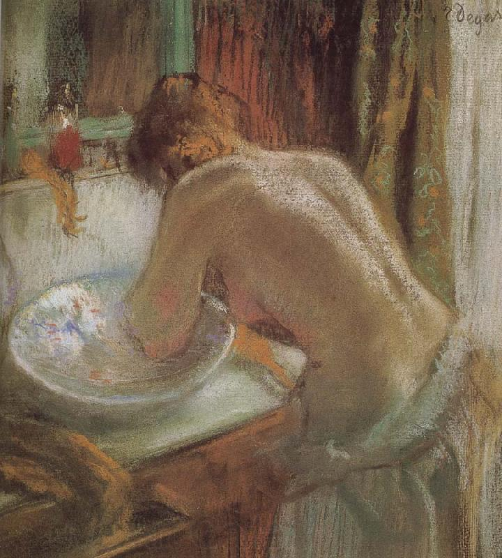 Bathroom Edgar Degas Open picture - 108.3KB