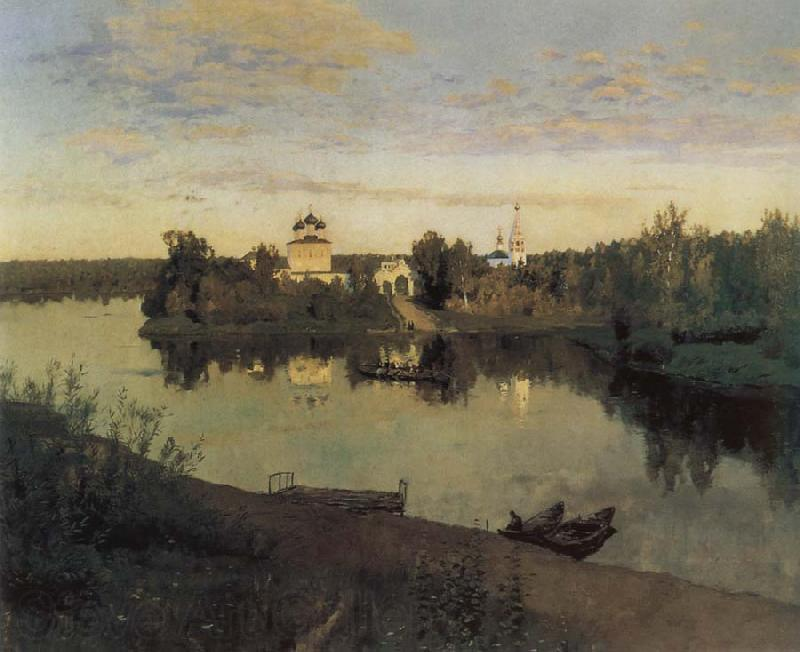 Isaac Levitan Evening Bells