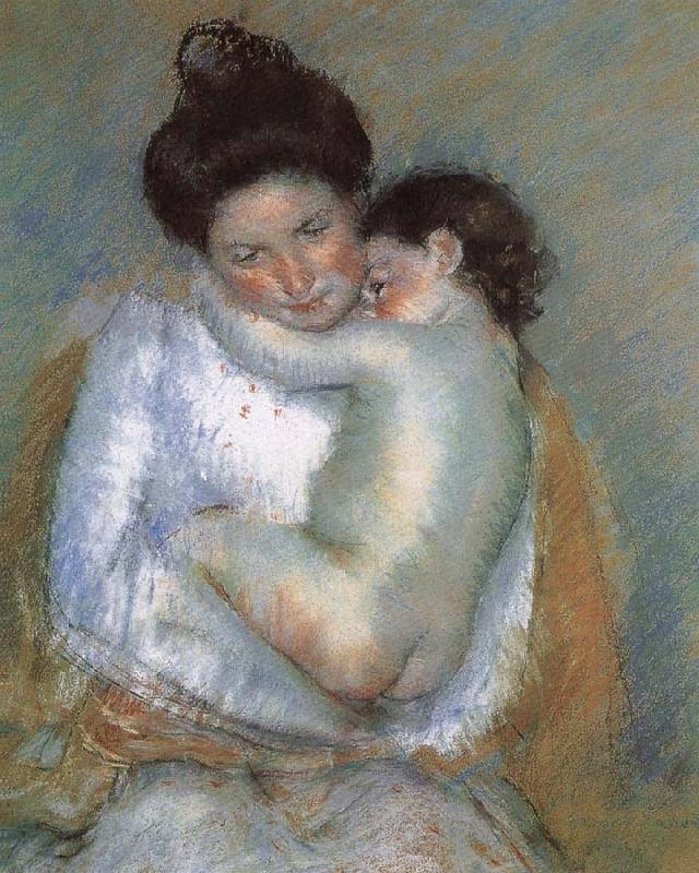 Mary Cassatt Mother and son