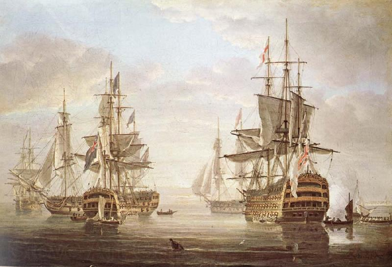 Nicholas Pocock This work of am exposing they five vessel as elbow bare that gora with Horatio Nelson and banskarriar