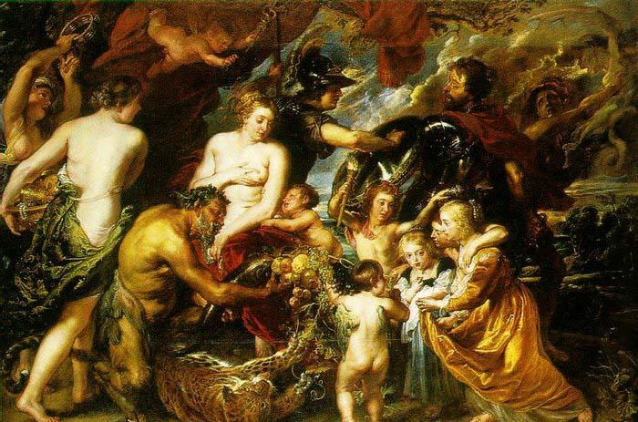 Peter Paul Rubens Allegory on the Blessings of Peace