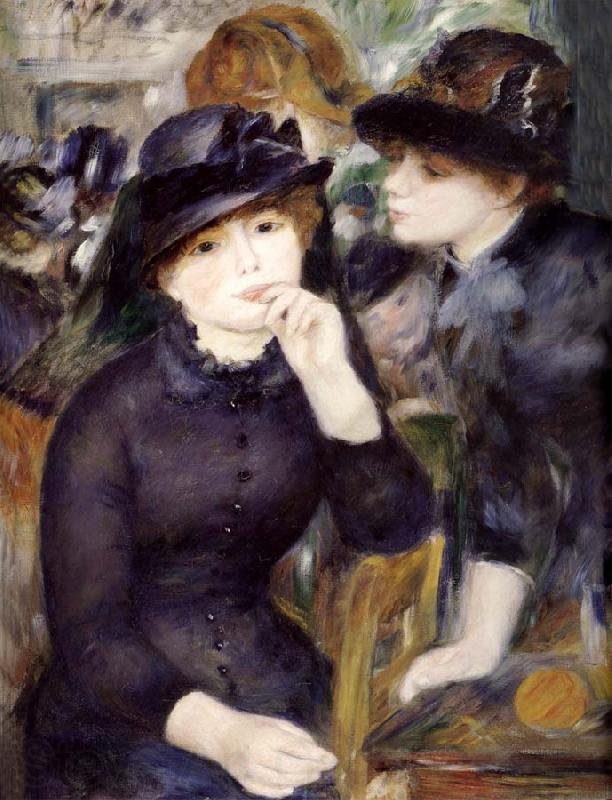 Pierre-Auguste Renoir Gril in the black