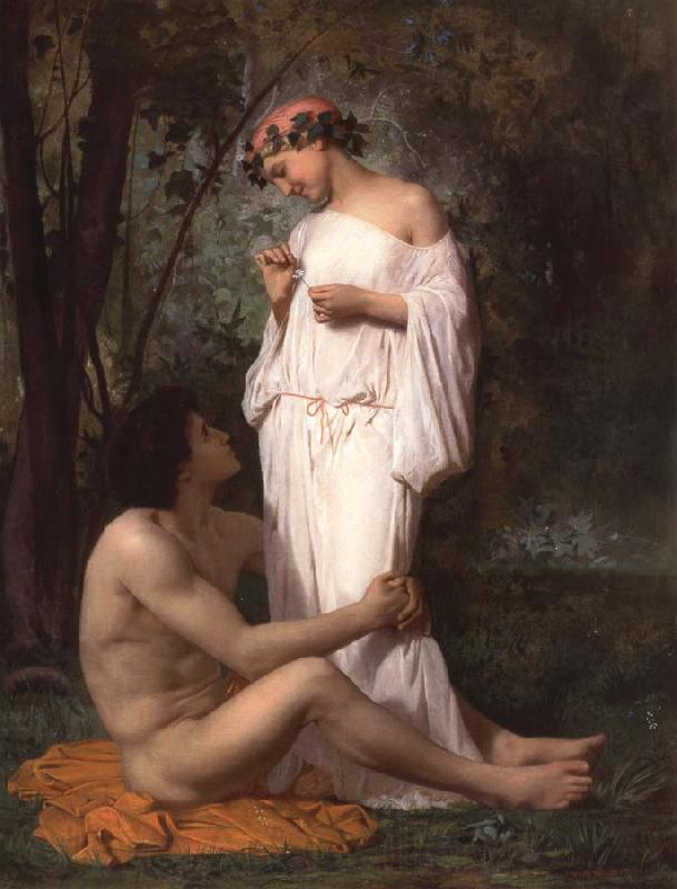 Adolphe William Bouguereau Idyii