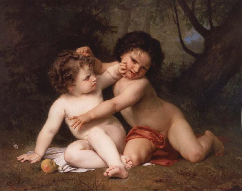 Adolphe William Bouguereau Jhe War