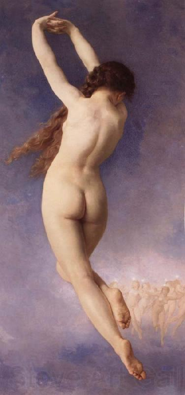 Adolphe William Bouguereau The Lost Pleiad