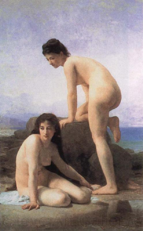 Adolphe William Bouguereau Bathers