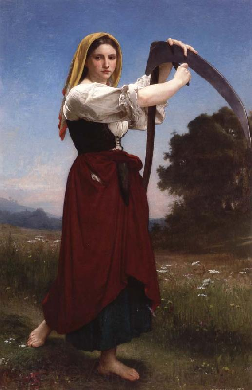 Adolphe William Bouguereau The Reaper
