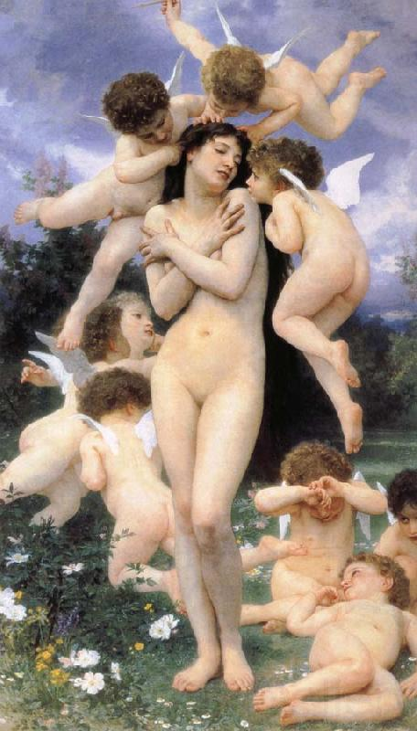 Adolphe William Bouguereau Return of Spring