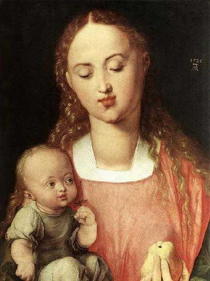 Albrecht Durer Madonna and Child with the Pear