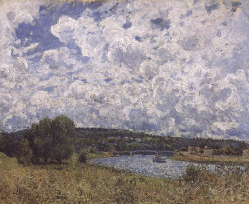 Alfred Sisley The Seine at Suresnes