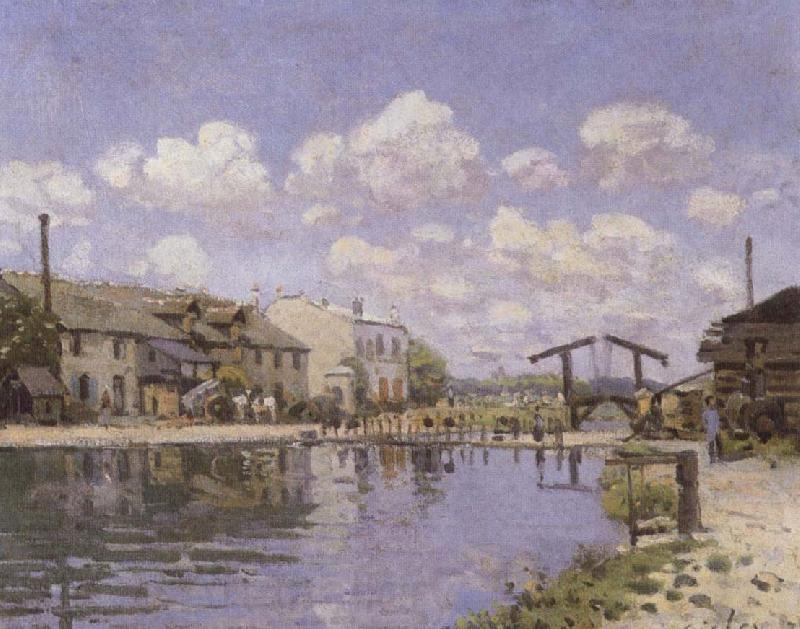 Alfred Sisley The Saint-Martin Canal