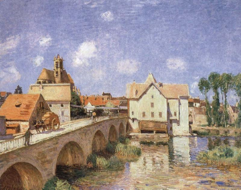 Alfred Sisley The Bridge at Moret