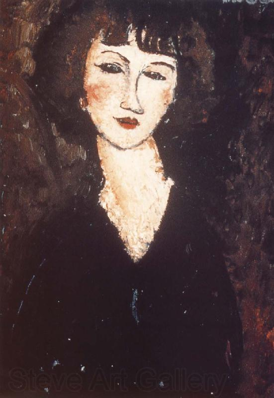 Amedeo Modigliani Girl from Mountmartre