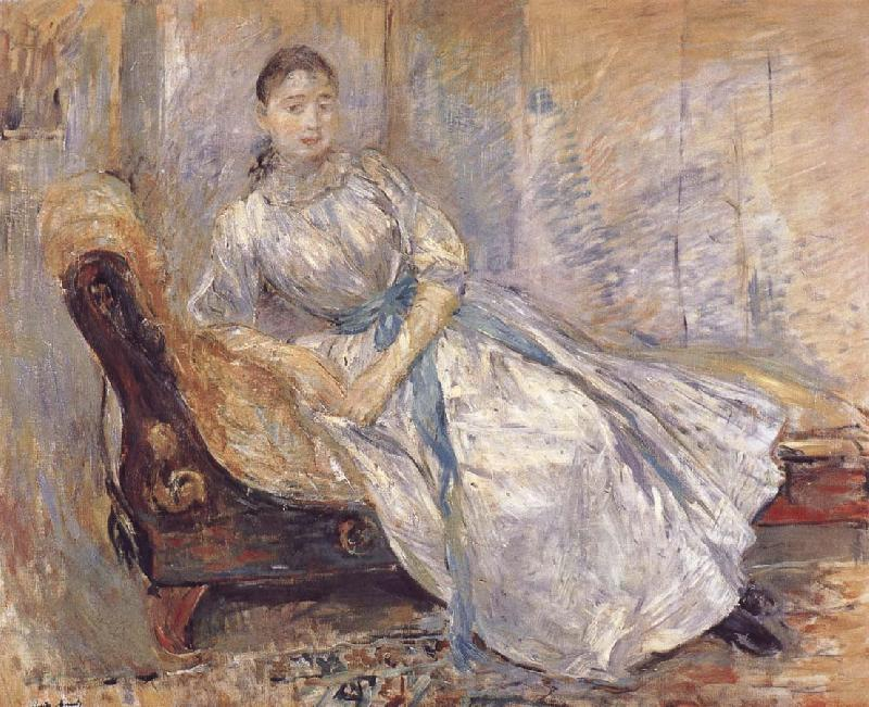 Berthe Morisot The girl on the bench