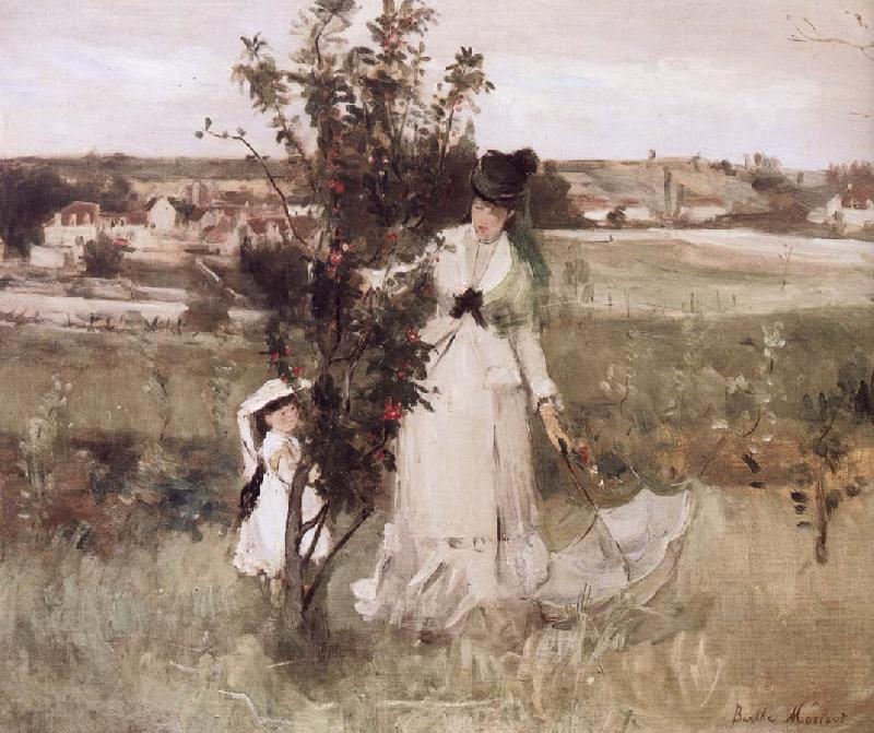 Berthe Morisot Hide and seek