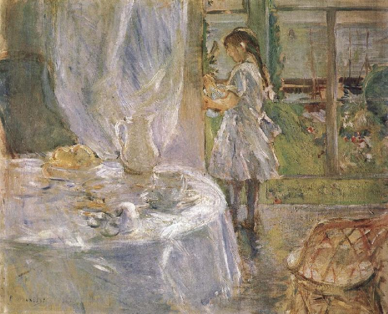Berthe Morisot At the little cottage