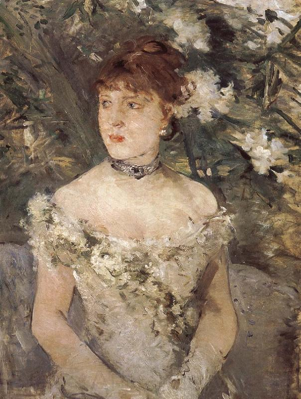 Berthe Morisot The woman dress for ball