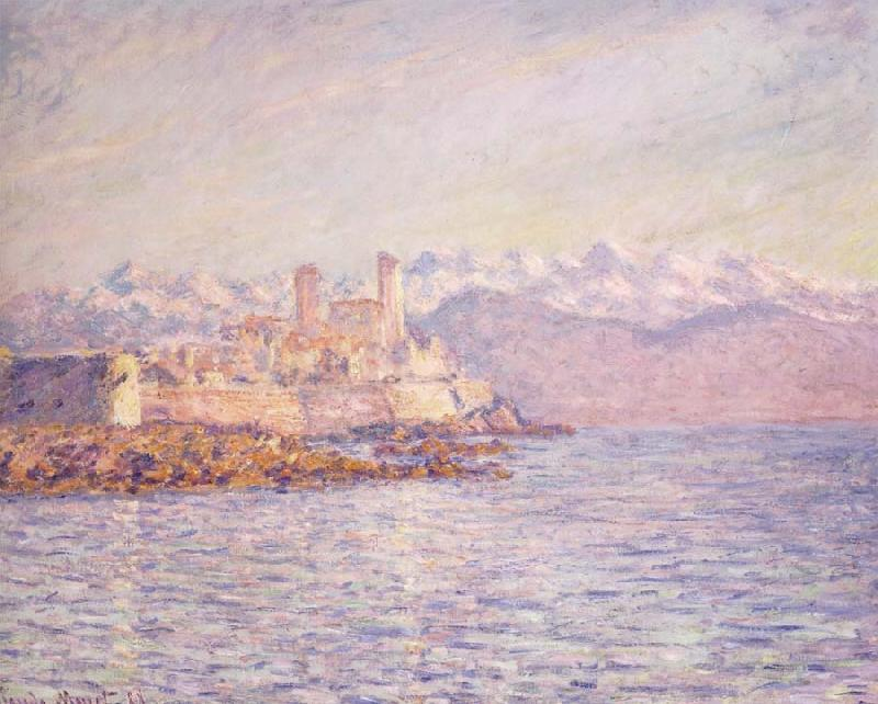 Claude Monet Antibes