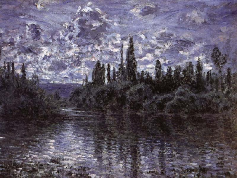 Claude Monet Bend in the Seine,near Vetheuil