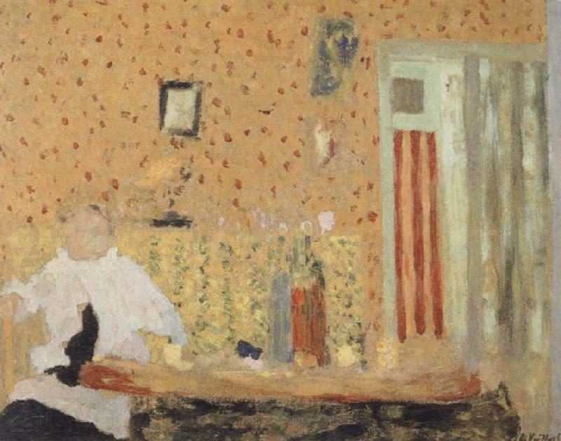 Edouard Vuillard After the Meal