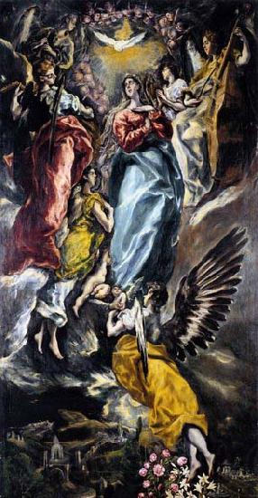 El Greco The Virgin of the Immaculate Conception