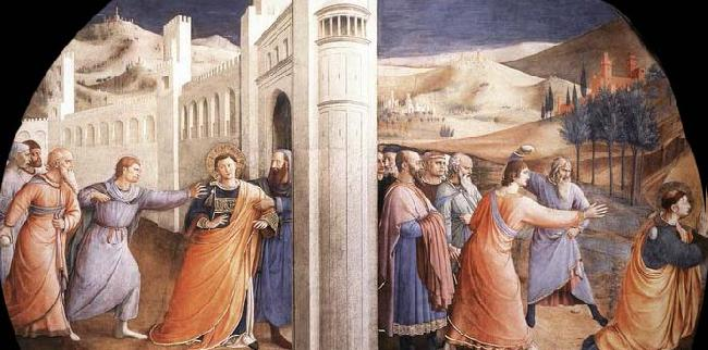 Fra Angelico Scenes from the Life of St Stephen