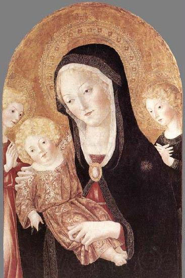Francesco di Giorgio Martini Madonna and Child with Two Angels
