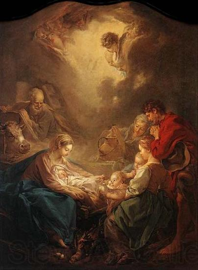 Francois Boucher Adoration of the Shepherds