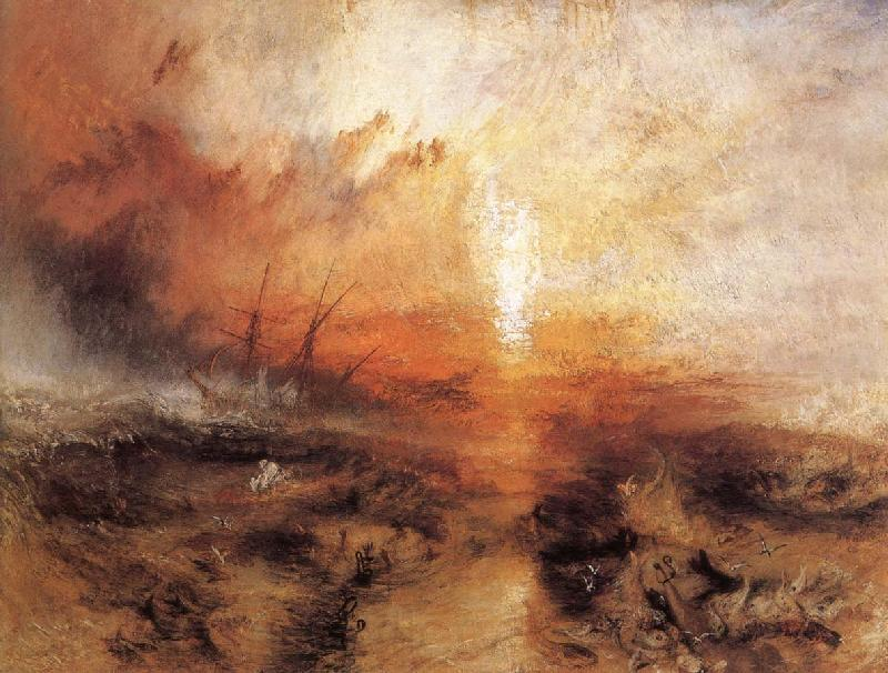 J.M.W. Turner Slavers throwing overboard the Dead and Dying
