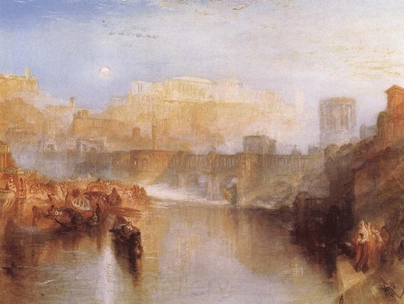 J.M.W. Turner Agrippina landing with the Ashes of Germanicus