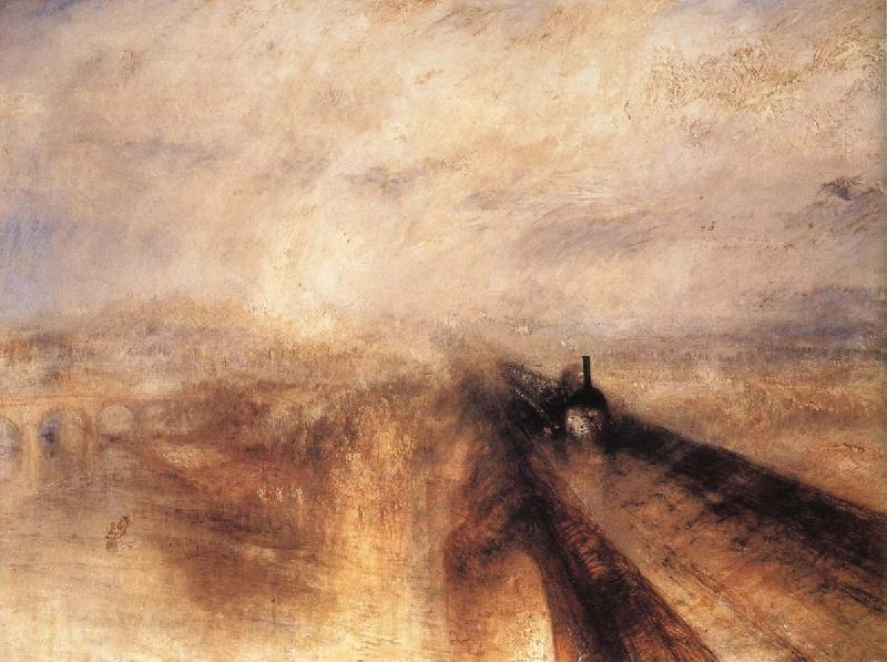 J.M.W. Turner Rain,Steam and Speed the Great Western Railway