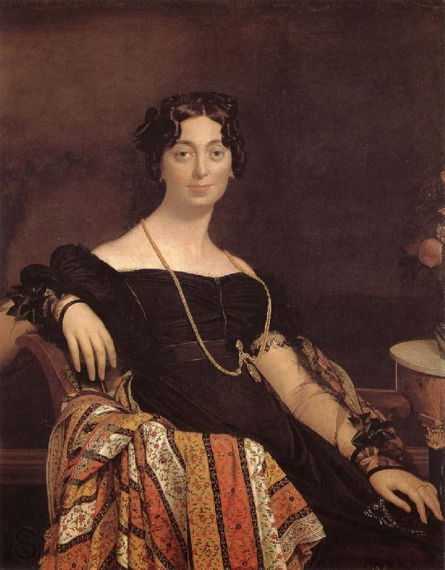 Jean-Auguste Dominique Ingres Mrs. Yake