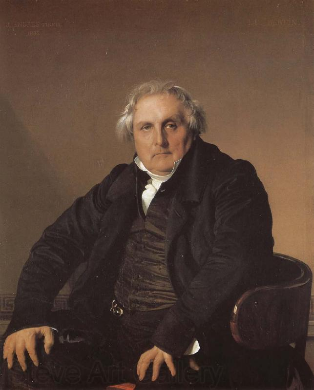 Jean-Auguste Dominique Ingres Portrait of Bier