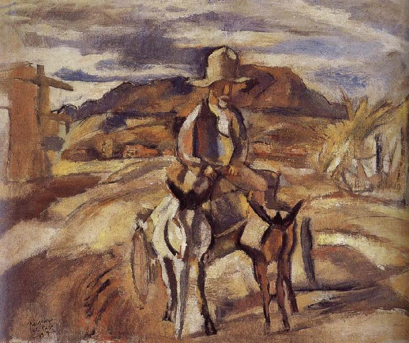 Jules Pascin Mexico-s old people