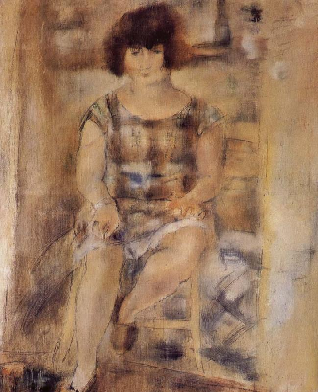 Jules Pascin Lucy at the afternoon