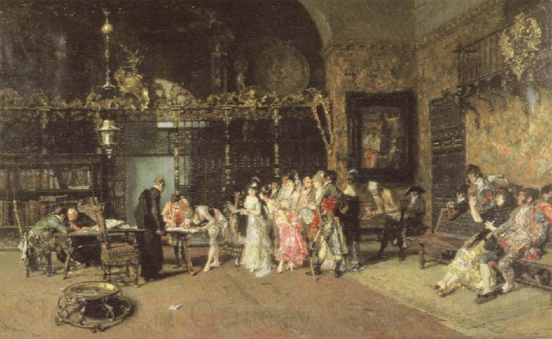 Mariano Fortuny y Marsal At the Vicarage