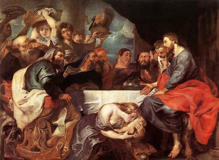 Peter Paul Rubens Christ at Simon the Pharisee