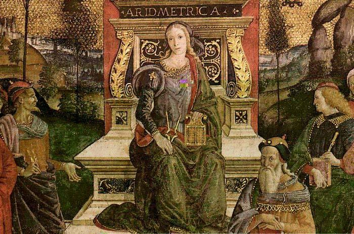 Pinturicchio The Arithmetic