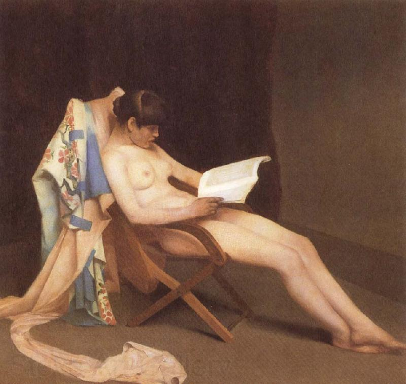 Theodore Roussel The Reading gril
