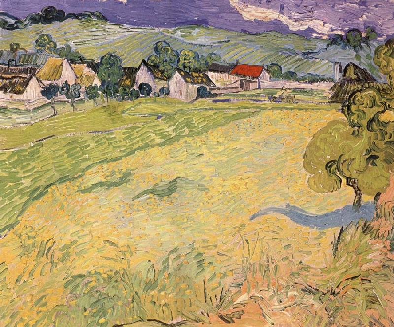 Vincent Van Gogh Les Vessenots in Auvers
