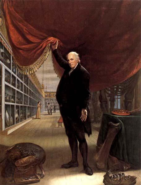 Charles Willson Peale The Artist in his Museum