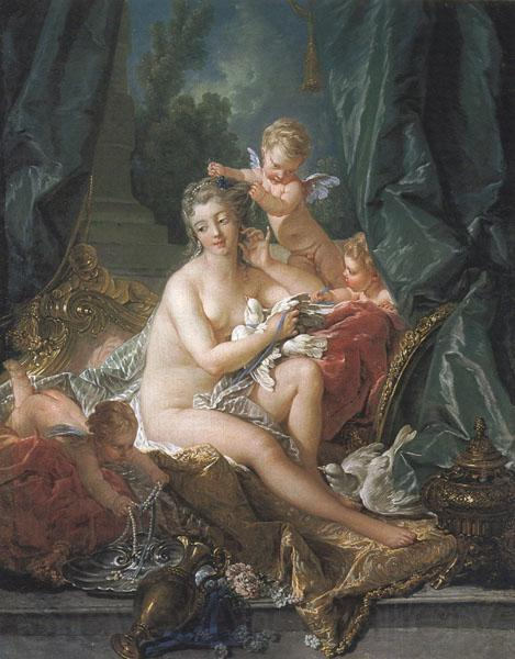 Francois Boucher The Toilette of Venus