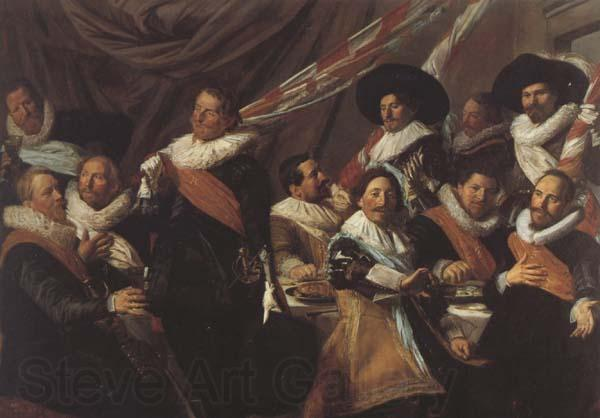 Frans Hals The Banquet of the St.George Militia Company of Haarlem  (mk45)