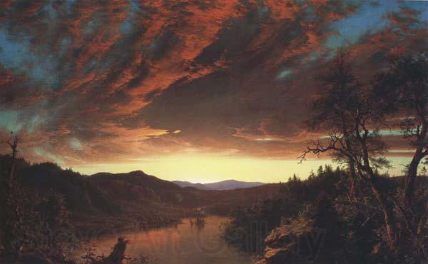 Frederic E.Church Twilight in the Wilderness