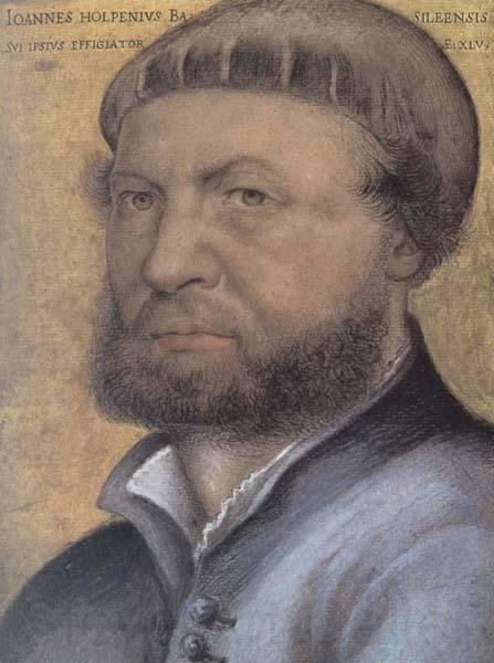 Hans holbein the younger Self-Portrait
