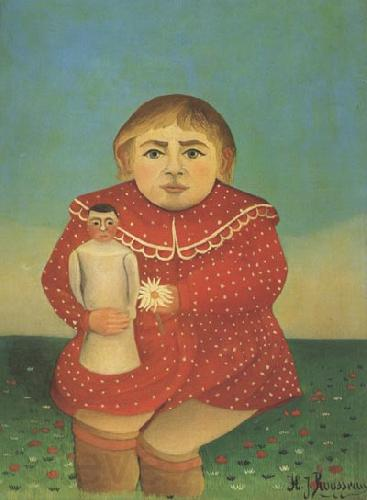 Henri Rousseau Portrait of a Child