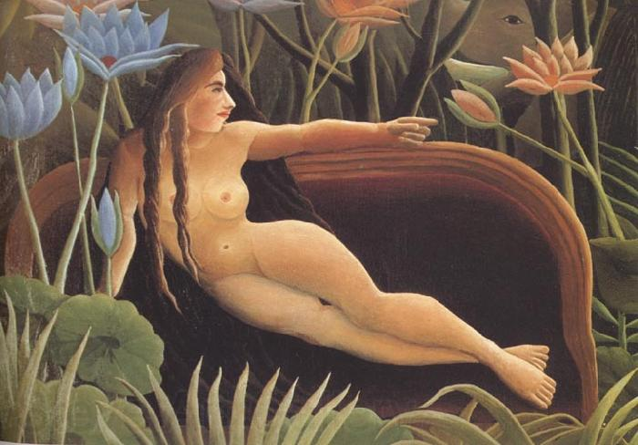 Henri Rousseau Detail from The Dream