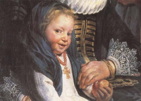 Jacob Jordaens Details of The Artist and his Family (mk45)