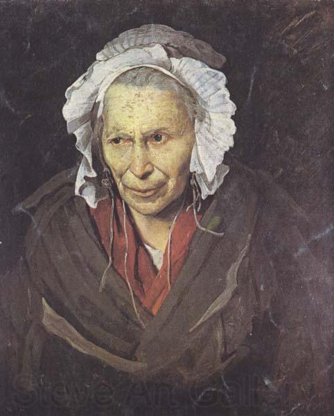 Theodore Gericault The Mad Woman with a Mania of Envy (mk45)