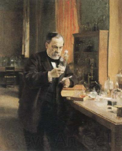 Albert Edelfelt louis pasteur in his laboratory